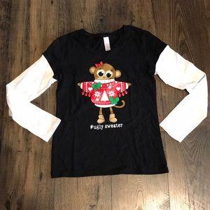 NWT Girls holiday shirt